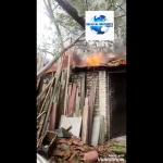 Se presenta incendió estructural en la Carrera 14 con calles 14 y 15.